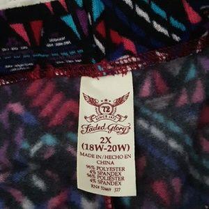 Faded Glory Pants - Faded Glory fleece leggings